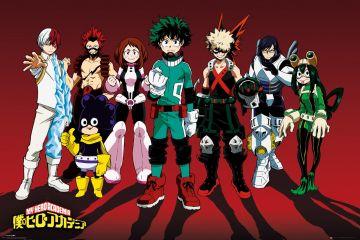 My Hero Academia - Line Up