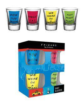 Friends Quotes - Shot Glasses
