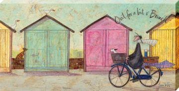 Sam Toft - Out For A Bit O' Brunch Canvas