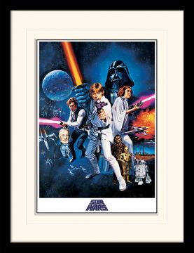 Star Wars -  A New Hope (One Sheet) Framed Print