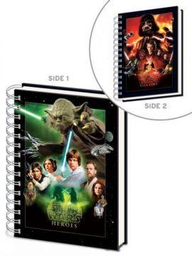 Star Wars - Choose A Side A5 Notebook