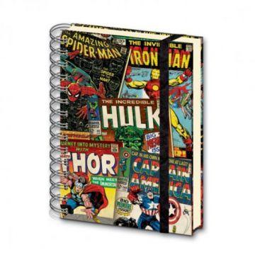 Marvel - Retro A5 Notebook