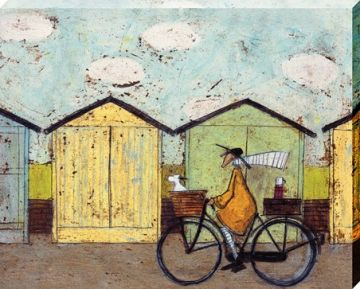 SAM TOFT - OFF FOR A BREAKFAST CANVAS