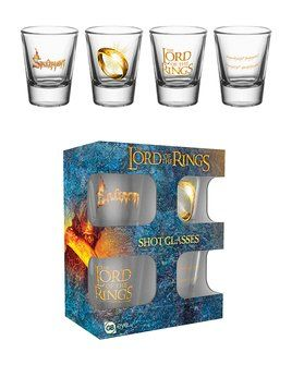 Lord Of The Rings - Shot Glasses