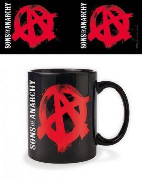 Sons Of Anarchy Black Mug