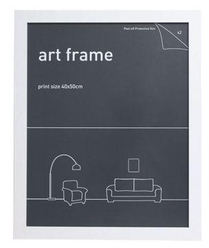 40X50 FRAME - WHITE
