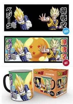 Dragon Ball Z - Saiyans Heat Changing Mugs