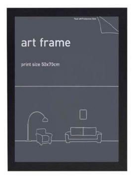 50X70 Frame - Black