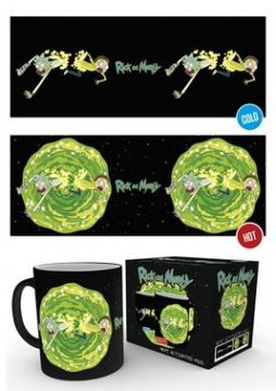 Rick and Morty - Portal Heat Changing Mug