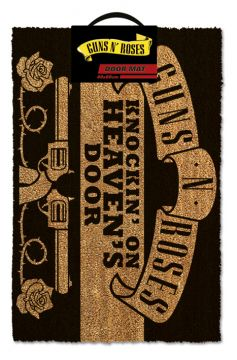 Guns N Roses - Knocking On Heavens Door Door Mat