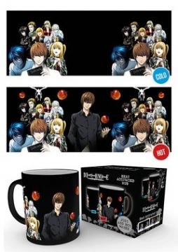 Death Note - Group Heat Changing Mug