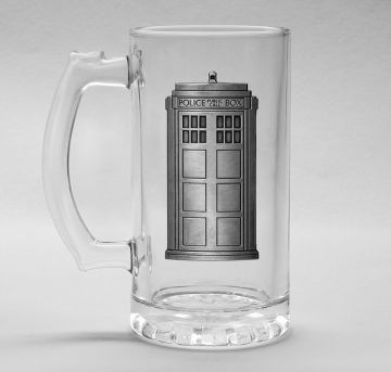 Doctor Who - Tardis Glass Stein