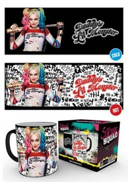 Suicide Squad - Daddy's Lil Monster - Heat Changing Mug