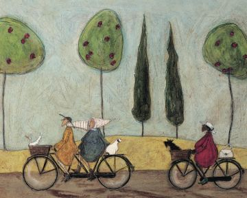 SAM TOFT - A NICE DAY FOR IT CANVAS