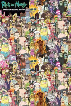 Rick & Morty Where's Rick