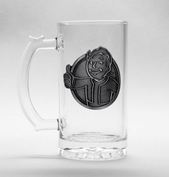 Fallout - Vault Boy Glass Stein