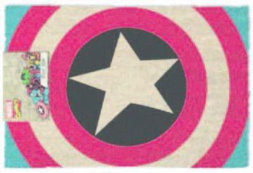 Captain America Door Mat