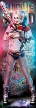 Suicide Squad - Harley Quinn Door Poster