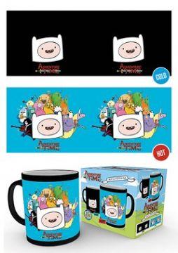 Adventure Time - Characters Heat Changing Mug