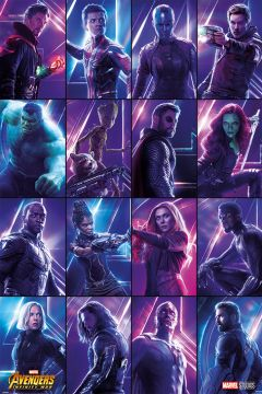 Avengers - Infinity War Heroes