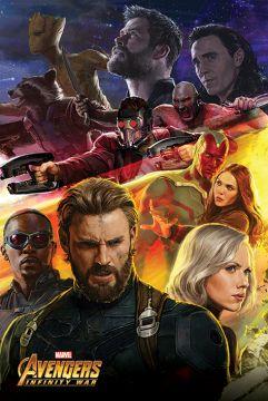 Avengers Infinity War - Capt USA