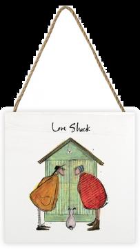 Sam Toft Love Shack Wood Block