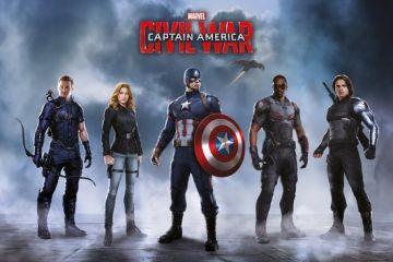 Captain America Civil War - Team Captain American