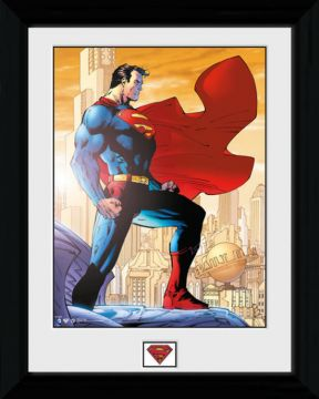 Superman - Daily Planet Framed Collector Print