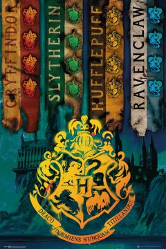 Harry Potter - House Flags