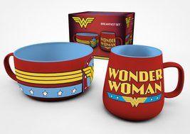 Wonder Woman - DC Comics Breakfast Set
