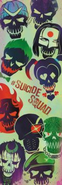 SUICIDE SQUAD - FACES