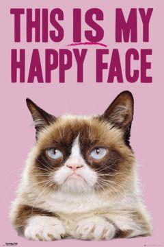 Grumpy Cat - Happy Face