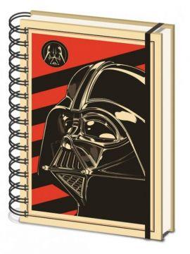 Star Wars - Vader Red A5 Notebook
