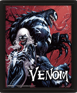 Venom Teeth and Claws - 3D Framed Lenticular