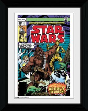 Star Wars - Comic Framed Collector Print