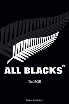 ALL BLACKS - SILVER FERN EST 1905