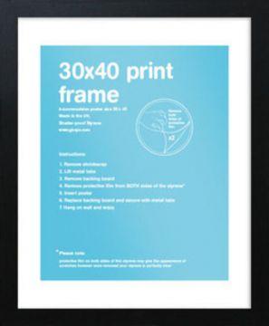30x40 Frame - Black