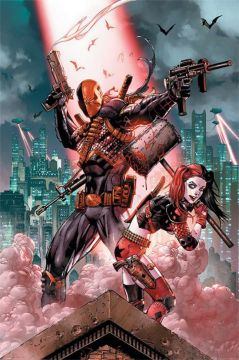 DC Comics - Deathstroke & Harley Quinn