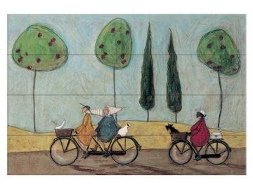 Sam Toft - A Nice Day For It Wooden Wall Art