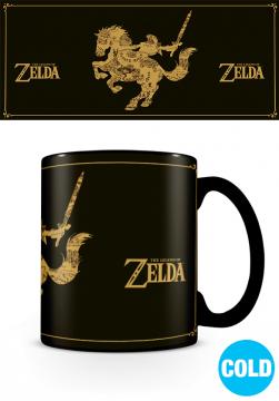 The Legend Of Zelda - Map Heat Changing Mug