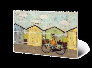 Sam Toft - Off For Breakfast Wooden Wall Art
