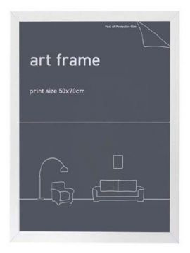 50X70 FRAME - WHITE