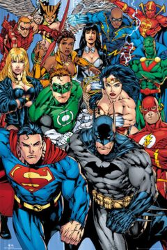 DC Comics - Collage