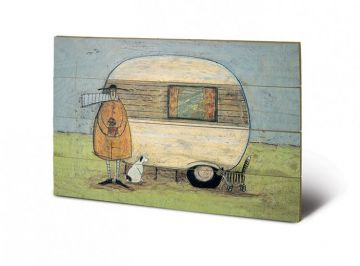 Sam Toft - A Home From Home Wooden Wall Art
