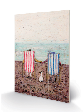Sam Toft - Perfect Day Wooden Wall Art