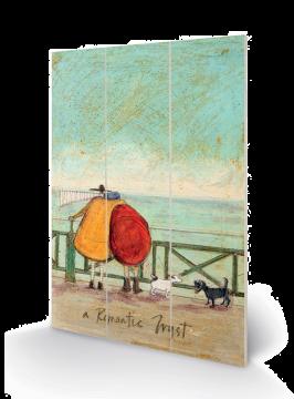 Sam Toft - A Romantic Tryst Wooden Wall Art