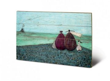 Sam Toft- The Same As It Ever Was Wooden Wall Art