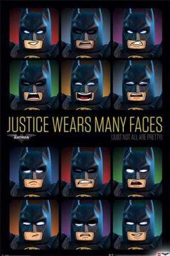 LEGO BATMAN - JUSTICE WEARS MANY FACES