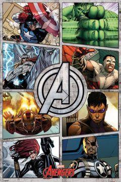 The Avengers - Comic Panels