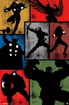 Avengers - Simplistic Grid